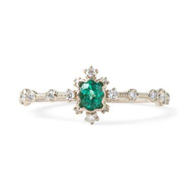 Emerald Forest Ring// catbird