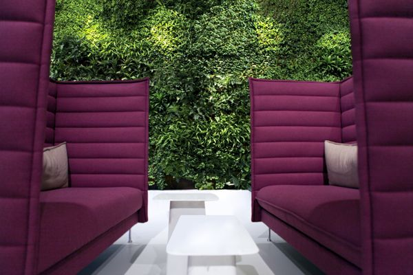 Wallscreen - Tropisk Design Green wall, plant, plants, living wall, Interior, Vitra