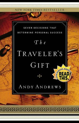 Andy Andrews - The Traveler's Gift. If you like historical fiction and inspiration, you will love this. You can't put it down! ************************************************ read this many years ago and loved it. Andy Andrews has a gift for story telling.