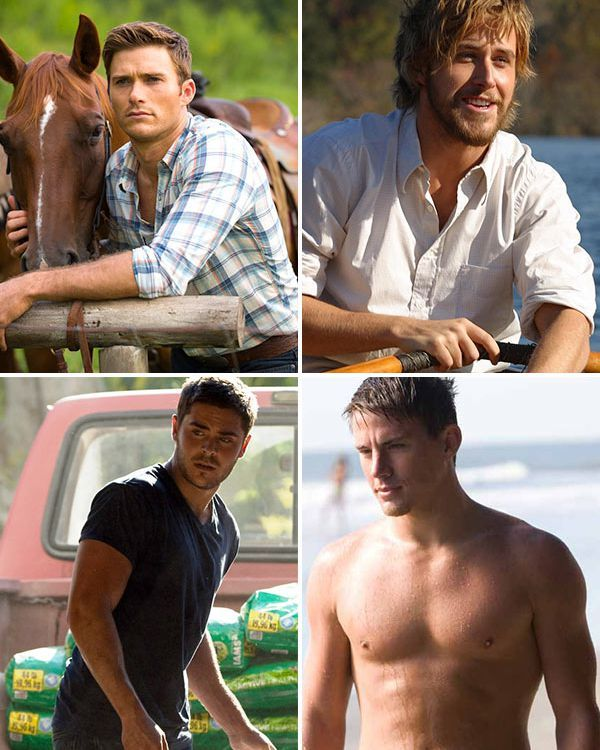 With 'The Longest Ride' opening this weekend, we can't get over how gorgeous Scott Eastwood is. However, he's just the latest hottie in the Nicholas Sparks franchise -- so which one would make a go...
