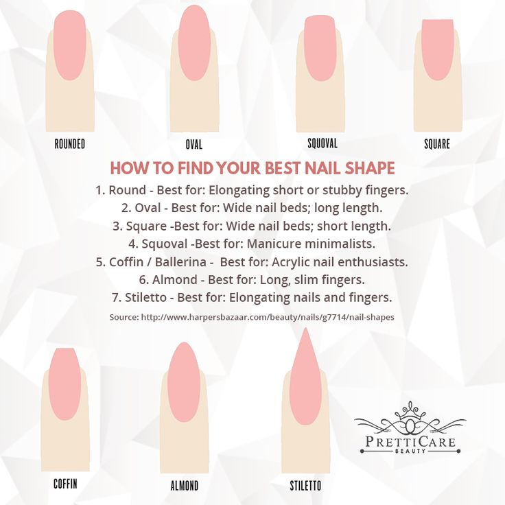 Modernizing your manicure doesn't have to mean straying from your signature shade. Try experimenting with the nail shape to freshen up your look. Take note of these on how to find your best nail shape!  For more information or making appointments, call us at +65 6635 2825 / +65 9387 3231. Visit our website at http://www.pretticarebeauty.com/     for more details. Like us on Instagram at https://www.instagram.com/pretticarebeauty/ #pretticarebeauty #beautysg #pretticare #sg #singapore…
