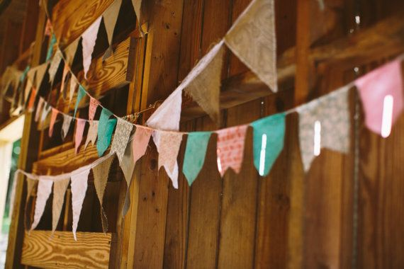 Colorful Fabric Garland