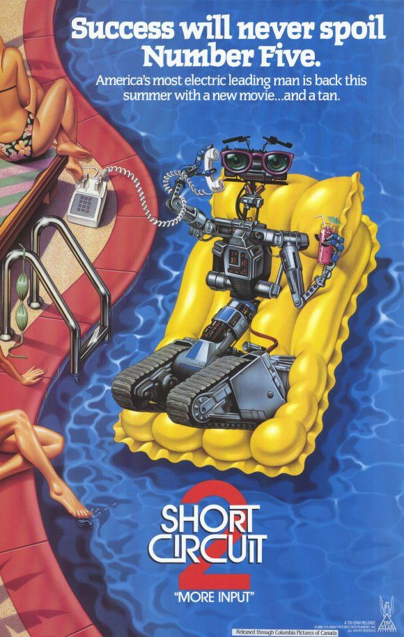 Short Circuit 2 11x17 Movie Poster (1988)