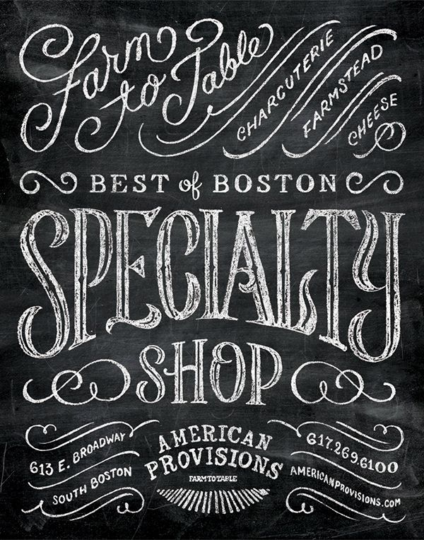 American Provisions on Typography Served