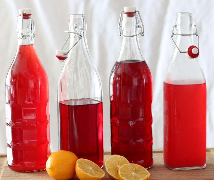 Raspberry lemonade with lots of health benefits!