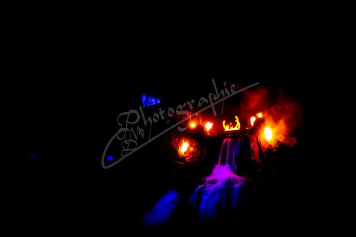 Feuershow -Triberger Wasserfälle - Winterzauber