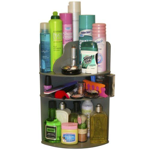 will triple your storage space great for organizing bathroom counter