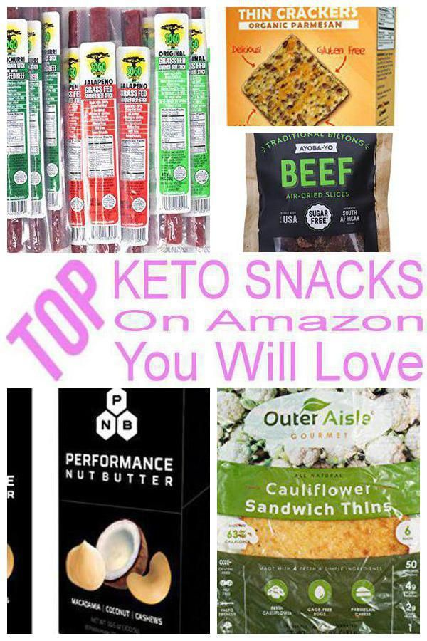 Keto Snacks on Amazon You Will Love | Keto Diet Suplement 9
