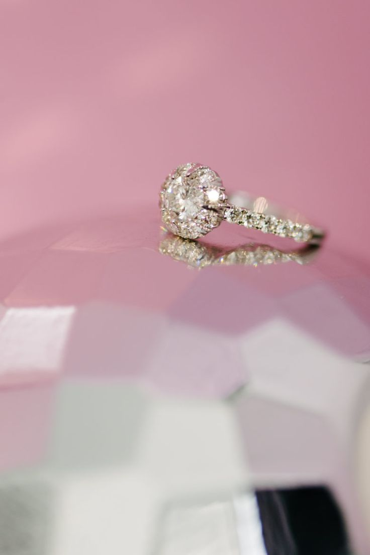 243 best Indie Wedding Rings images on Pinterest | Halo engagement ...
