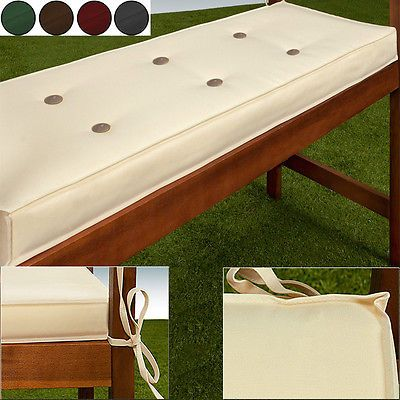 Details About Outdoor Waterproof Cushions Bench Swing Seat Cushion Pads 145cm Garden Furniture