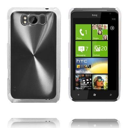 Aluminium Shield (Sort) HTC Titan Deksel