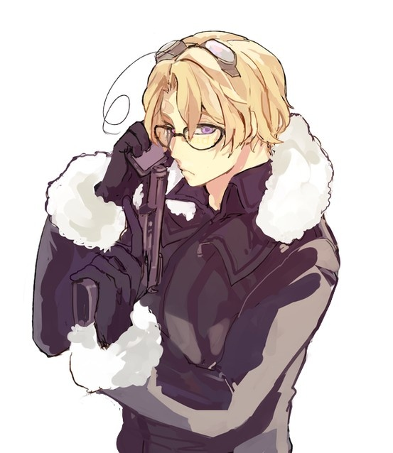 くろ - Hetalia - Canada (Matthew Williams). Canada's about to serve up some lead