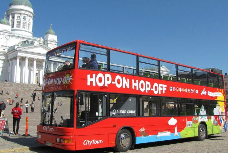 Sightseeing-Touren in Helsinki: Hop On Hop Off Busrundfahrt mit City Tour