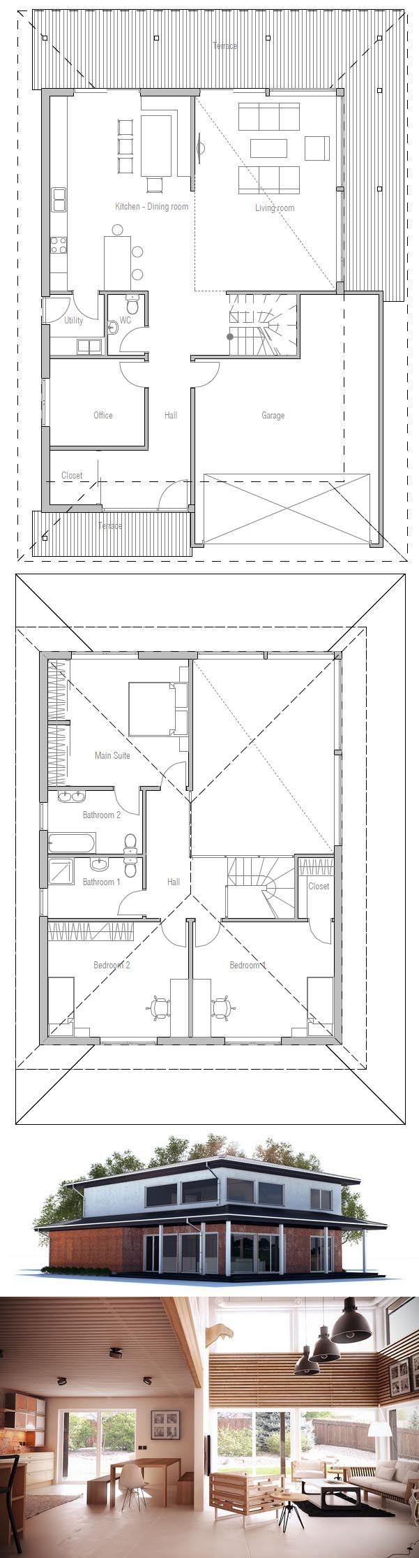 Best 25 modern house floor plans ideas on pinterest for Modern house design rules