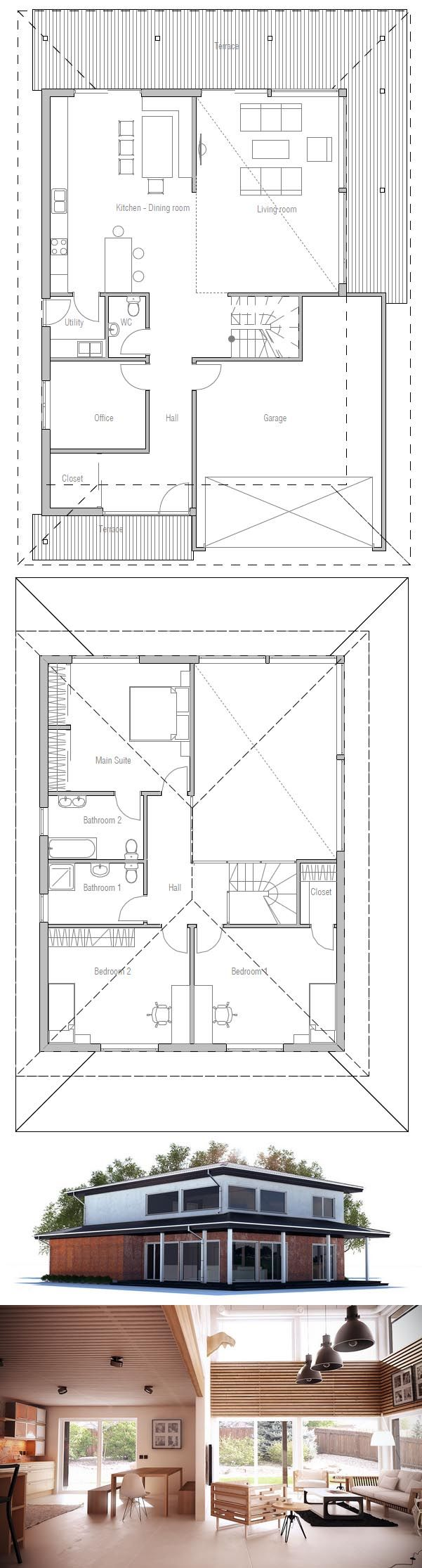 ^ 1000+ images about Haus on Pinterest House plans, Small houses ...