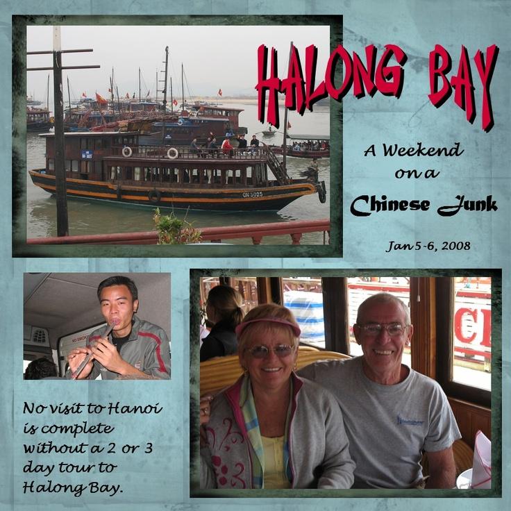 Halong Bay 1 - Scrapbook.com