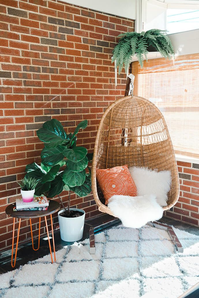 A Peek Inside Our Own Carrie Waller's Mid-Century Mod Home