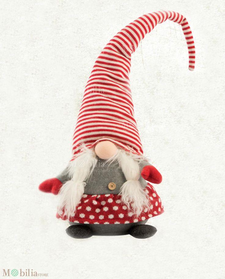 Regali di Natale Peluche Grande ideale come originale regalo, come accessorio decorativo da mettere nella cameretta dei tuoi bambini o vicino l'albero di natale. Scoprila su Mobilia Store.