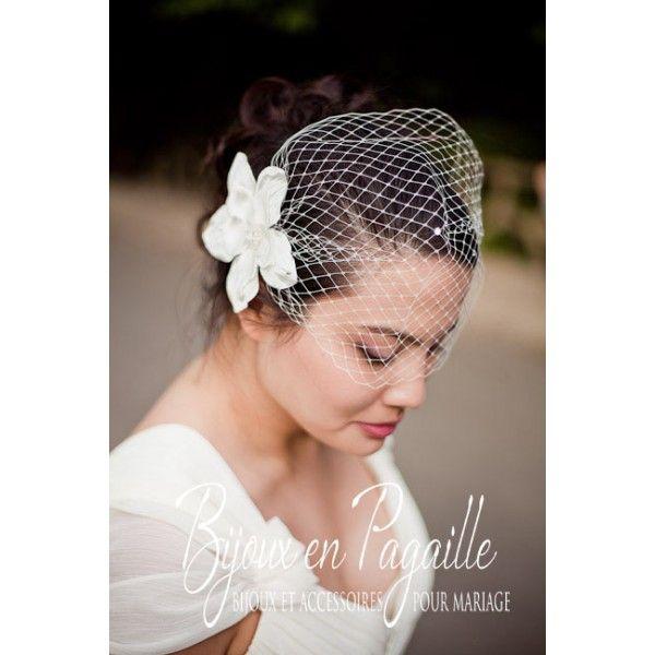 Des voiles et voilettes en pagaille pour la mariée