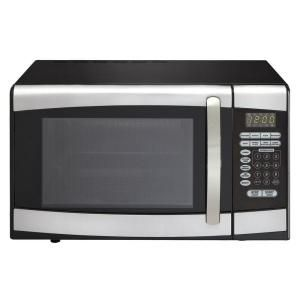Danby Microwave Ovens 0.9 cu. ft. Countertop Microwave in Stainless S ...