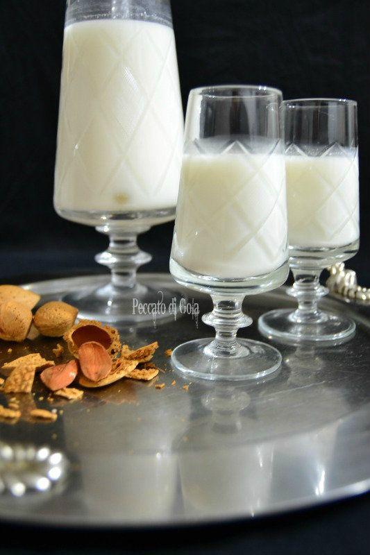 ricetta latte di mandorla, peccato di gola