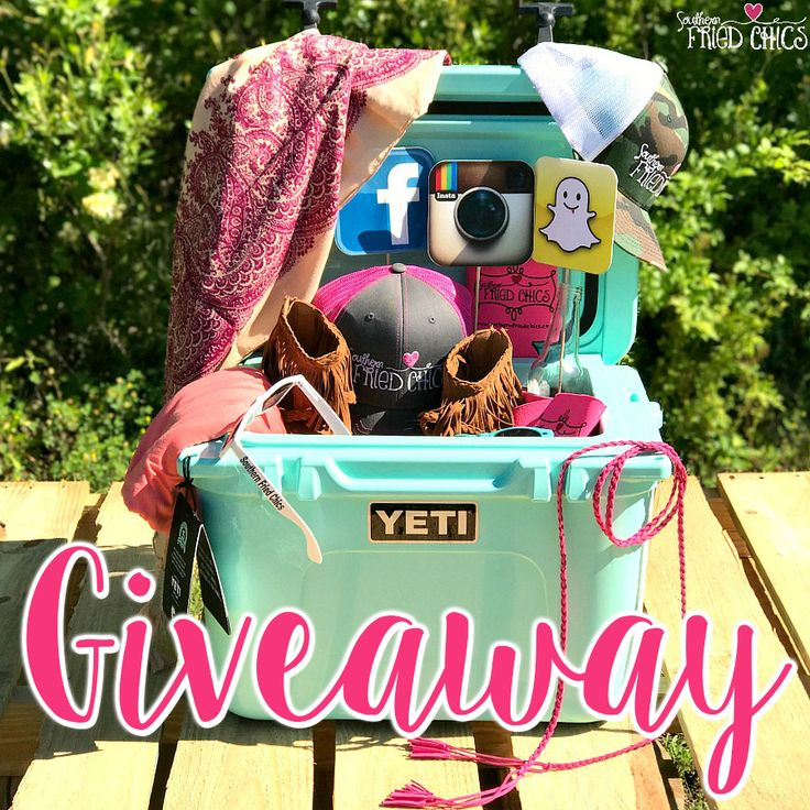 """Pin It, To Win It!"" Yeti cooler and $750 worth of SFC merchandise!! Simply Pin this photo on one of your boards and comment your full name, size, and state in order to Win It!! A winner will be announced on June 2nd! All contestants must be registered as a customer on our website."