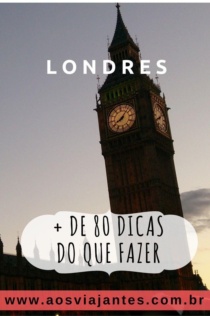 Dica 1 – Se você for a Londres e não conhecer o famoso Big Ben, volte e tente de novo! Fica bem no centro da cidade. [ grátis ]  Para mais dicas acesse o blog ;)