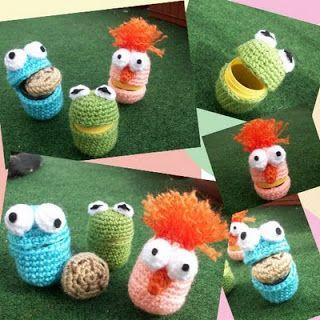 Airali handmade. Where is the Wonderland? Crochet, knit and amigurumi.: Ovetti dell'Amigurumiworld