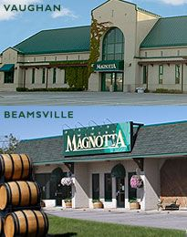 Magnotta Winery has 13 locations located throughout the Greater Toronto Area, Southwestern Ontario and the Niagara Peninsula.