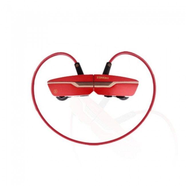 Zonoki (Punainen) Langattomat Bluetooth Kuulokkeet - Ilmainen Toimitus!