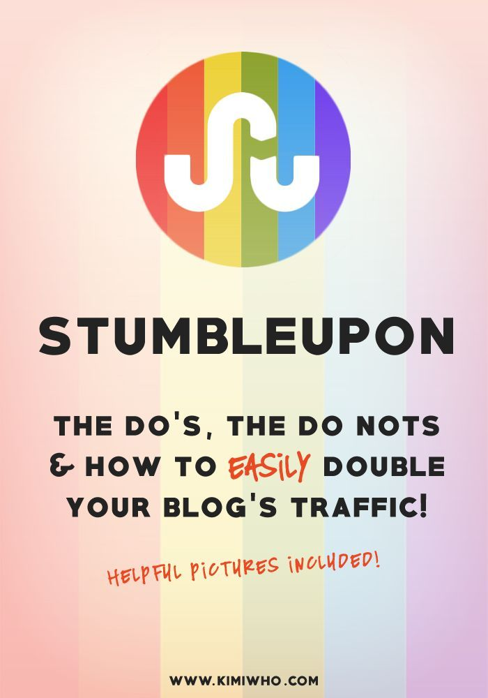 StumbleUpon has been one of my greatest blog traffic secrets and I want to share with you how to double your traffic using it!