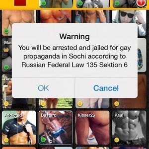 Russia: Gay dating app blocked, users threatened with arrest