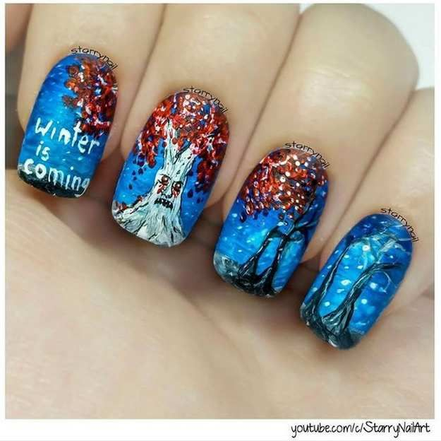 Nail Polish Art Designs Games Hession Hairdressing