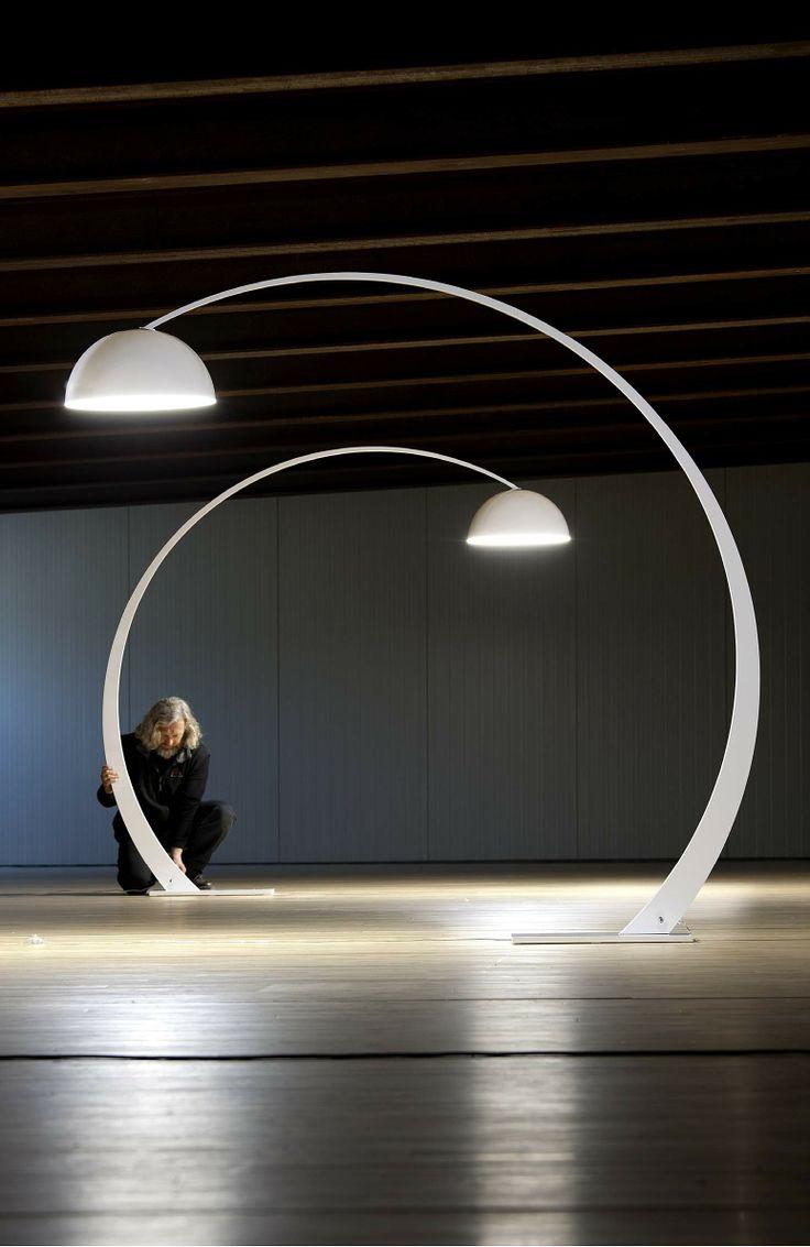 Mejores 812 im genes de iluminacion interior pie indoor - Bauhaus iluminacion interior ...