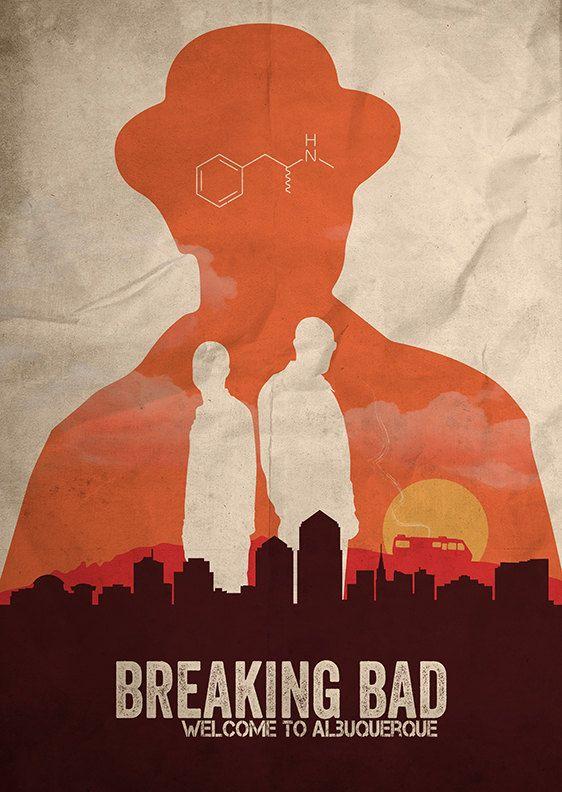 Breaking Bad affiche par FlickGeek sur Etsy