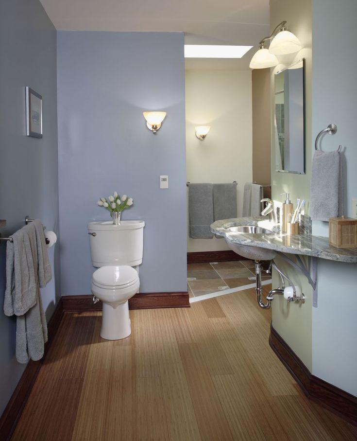 How to Install a Basement Bathroom | Half bathroom remodel ...
