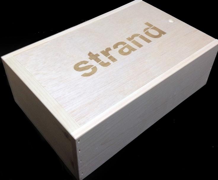 Strand 2 Bottle Custom Wooden Wine Box