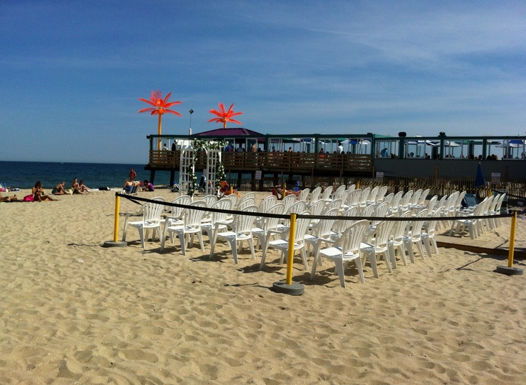 A Seaside Ceremony At Martellu0027s Tiki Bar In Point Pleasant Beach, NJ ~ The  Jersey