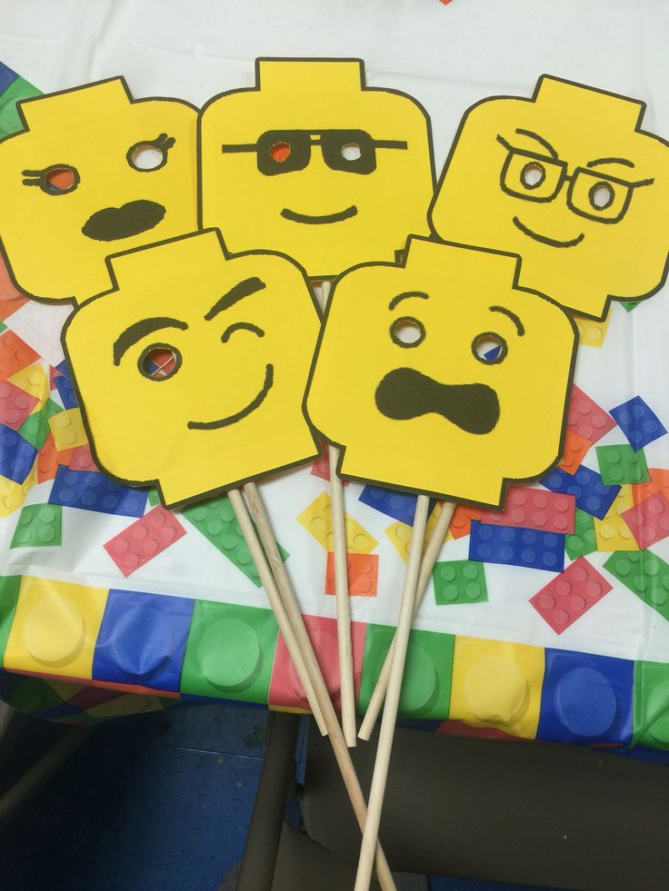 Lego face masks diy! The kids had so much fun with these!