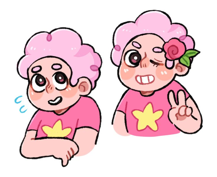 jyushimachuu: pink aint a bad look on steven