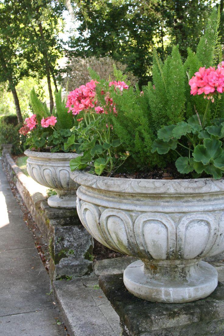 25 best ideas about stone planters on pinterest dremel for Beautiful planters