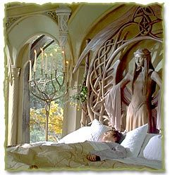 frodo at rivendell love the candle holder favorite places pinterest our kids sleep and. Black Bedroom Furniture Sets. Home Design Ideas