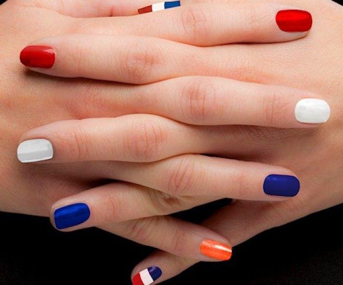 Ook je nagels in Koninginnedag (of Koningsdag) stijl!