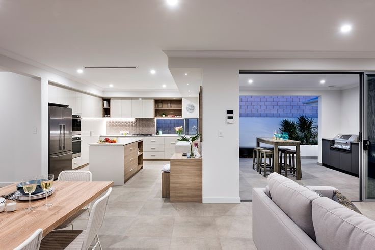 Home Builders Australia | Living | Outdoor Entertaining | Kitchen | Display Home | New Homes | Interior Design