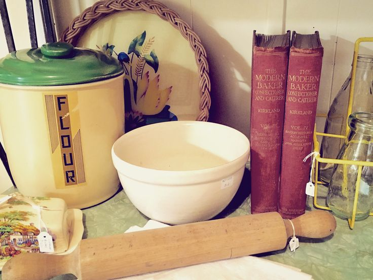 Rare books & kitchenalia at Rust Emporium