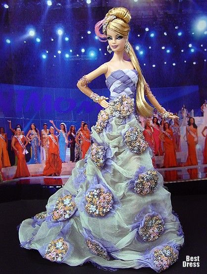 Ninimomo's Barbie.  Americas (North, Central, South).  2009/2010  Miss St. Pierre and Miquelon
