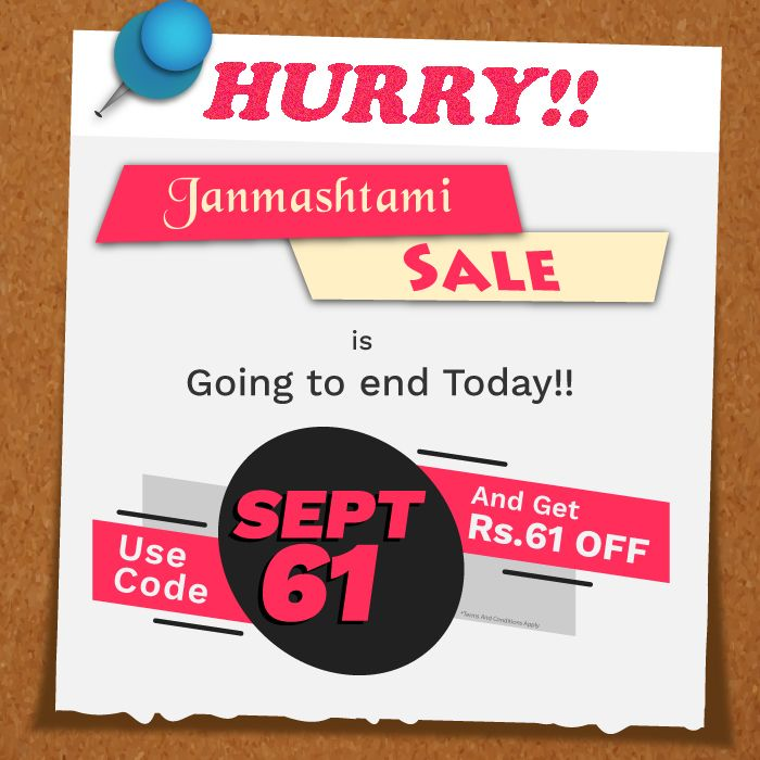 Hurry Janmashtami Sale Is Ending Today Use Code Sept61 And Get Extra Rs 61 Discount On Pet Food And Products Ord Online Pet Store Pet Store Pet Shop
