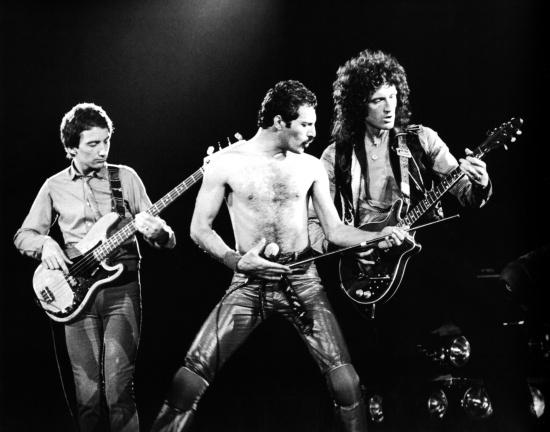 Queen in concert...