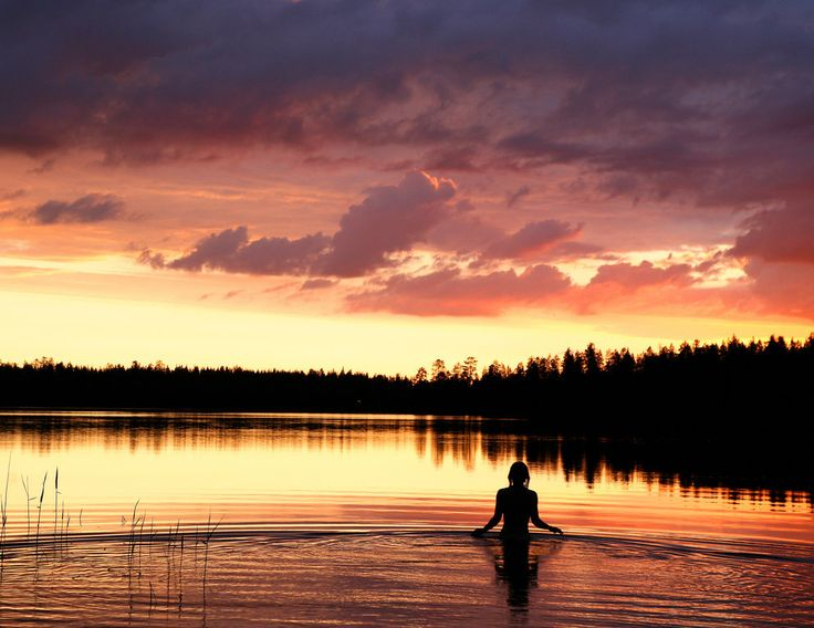 Who actually enjoys an open-water dip in the evening? | 38 Reasons You Should Never Visit Finland
