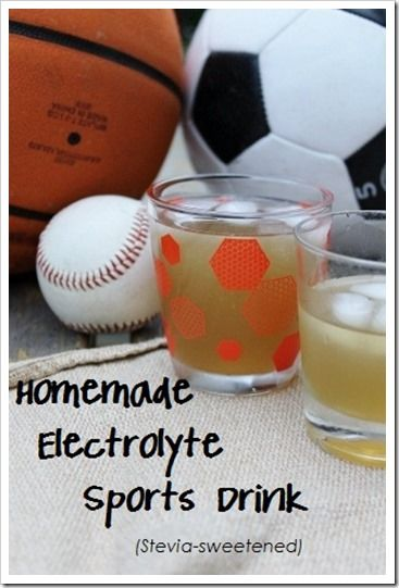 homemade stevia sweetened electrolyte sports drink sportsdrink - Kitchen Stewardship